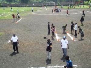 Participants au stade