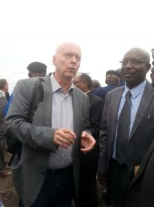 Martin Domke et le Recteur de l'ULPGL