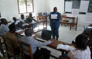 Mr Bakenga Partage aux journalistes sa connaissance sur la gestion des conflits