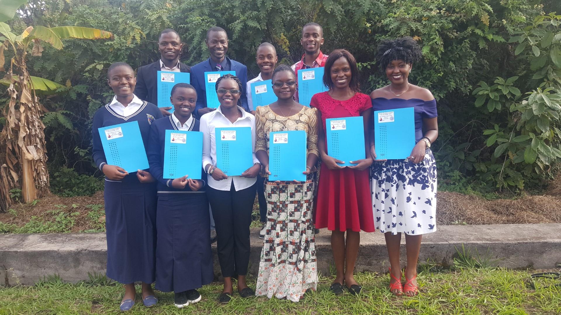 Des étudiants de l'ULPGL boursiers de la BEBUC