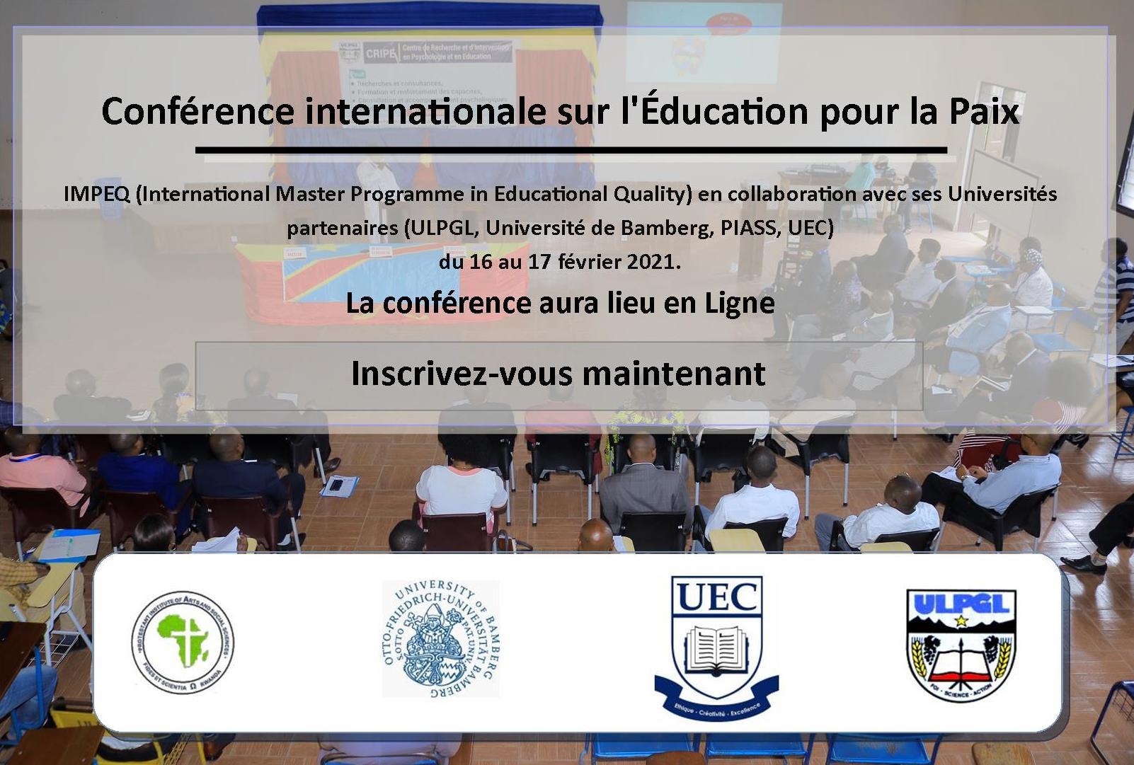 Conférence internationale sur l'Éducation pour la Paix