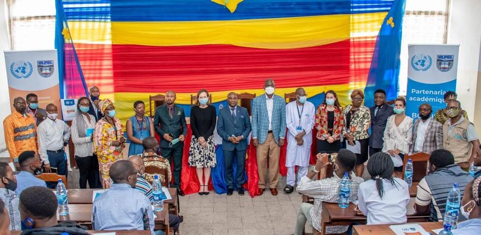Inauguration du partenariat académique entre l'ULPGL et le Bureau Conjoint des Nations Unies pour les Droits de l'Homme.