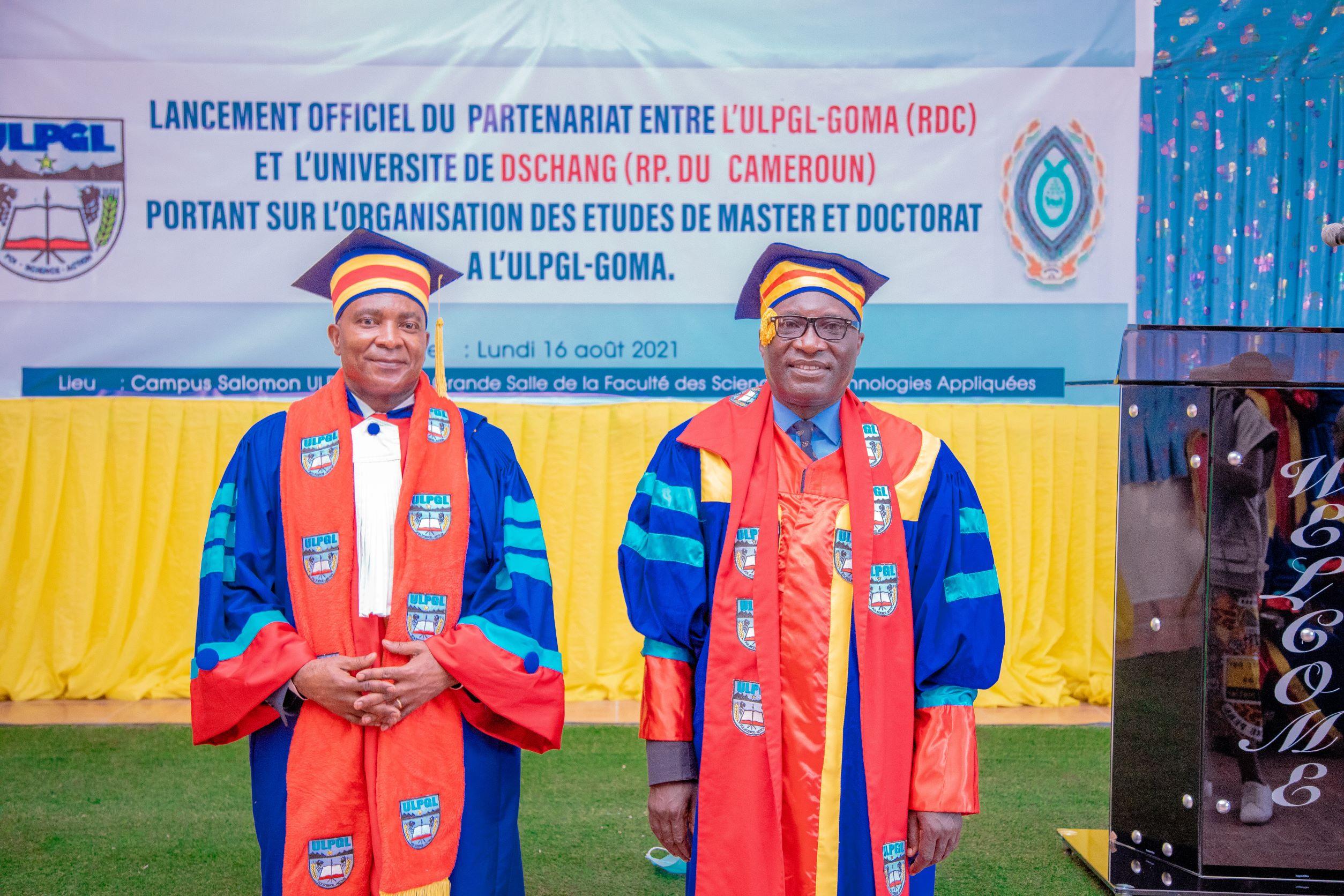 Lancement des cycles de Masters et de Doctorat à l'ULPGL-Goma en collaboration avec Université de DSCHANG de Cameroun.