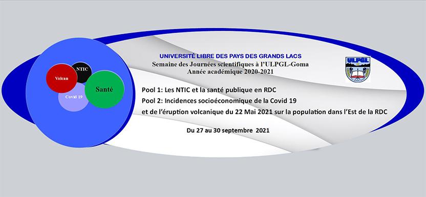 Semaine des journées scientifiques de l'UPGL 2020-2021